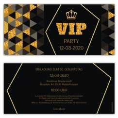 VIP Einladungskarten