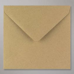 Briefumschläge Vintage Kraftpapier Quadrat