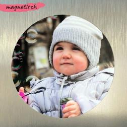 Foto Magnet rund