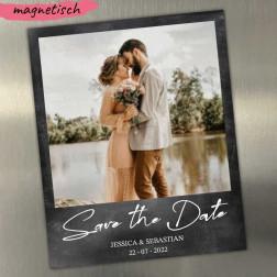 Save the Date Magnetkarte mit Bild