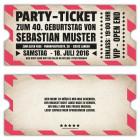 Einadungskarten-gestalten-Party-originelle-Einladung-ticket-Eintrittskarte--VIP-Vintage-30.-40.-50.-60.-Geburtstag-gestanzt-rose