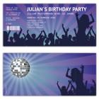Einladung-als-Konzert-Ticket-Retro-Eintrittskarte-party-people-online-personalisieren-lila