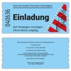 Einladung-Eintrittskarte-gestanzt-blau