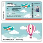 Einladungskarten-Kindergeburtstag-als-Flugticket-Boarding-Pass-mit-Flugzeug