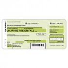Einladungskarten Flugticket  Geburtstag  Ticket  Einladung  Karte Boarding Pass grün