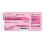 Einladungskarten Flugticket  Geburtstag  Ticket  Einladung  Karte Boarding Pass rosa