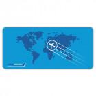 Einladungskarten Flugticket  Geburtstag  Ticket  Einladung  Karte Boarding Pass blau