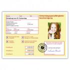 Geburtstagseinladung-als-gelber-Schein-Arbeitsunfähigkeitsbescheinigung-Krankmeldung-mit-Foto-günstig-gestalten