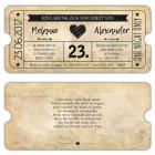 Hochzeitseinladung-als-Eintrittskarte-Ticket-im-Vintage-Design-mit-Herz