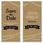 Save-the-Date-Karten-Vintage-Kraftpapier-Girlanden-optik-Hochzeit