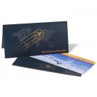 Tickettache Tickethüllen für Flugticket Boarding Pass Einladung
