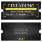 Vintage-Einladungskarten-Ticket-Eintrittskarte-Retro-Einladung- selbst-gestalten-Geburtstag-Party