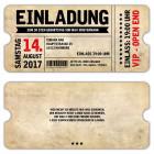 Vintage-Eintrittskarte-VIP-als-Geburtstagseinladung-zum-30.-40.-50.-60.-Geburststag